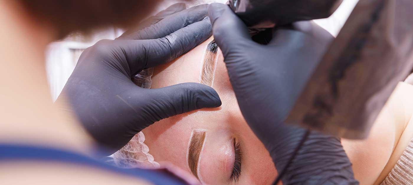 Pre & Post 3D Nano Brow Tattooing